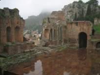 görög színház Taormina-ban