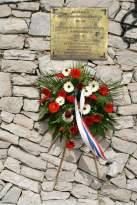 Vidova gora: háborús emléktábla