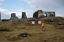 a rom a nyugati várfaltól