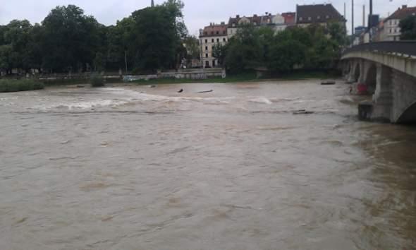 München - áradó Isar
