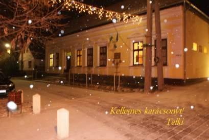 Kellemes karácsonyt kívánunk Telkiből!