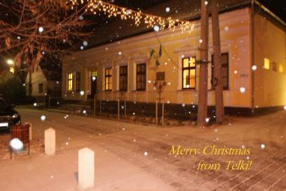 Merry Christmas from Telki!